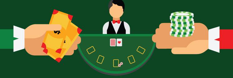 Indbetaling til online casinoer